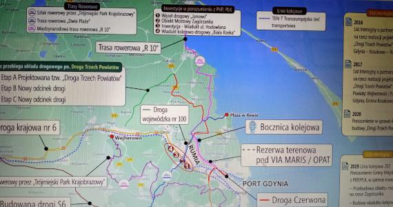 Rumia: nowe drogi dla inwestycji i rekreacji
